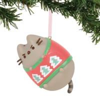 Xmas Pvc Hanging Ornament Pusheen Ugly Sweater