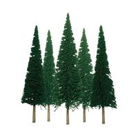 JTT: HO Scale - Scenic Pine (24 Pack)