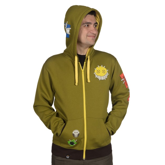 Overwatch Ultimate Junkrat Zip-Up Hoodie (L)