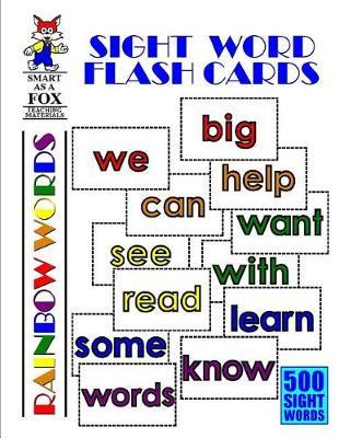 Sight Word Flash Cards by Dwayne Douglas Kohn