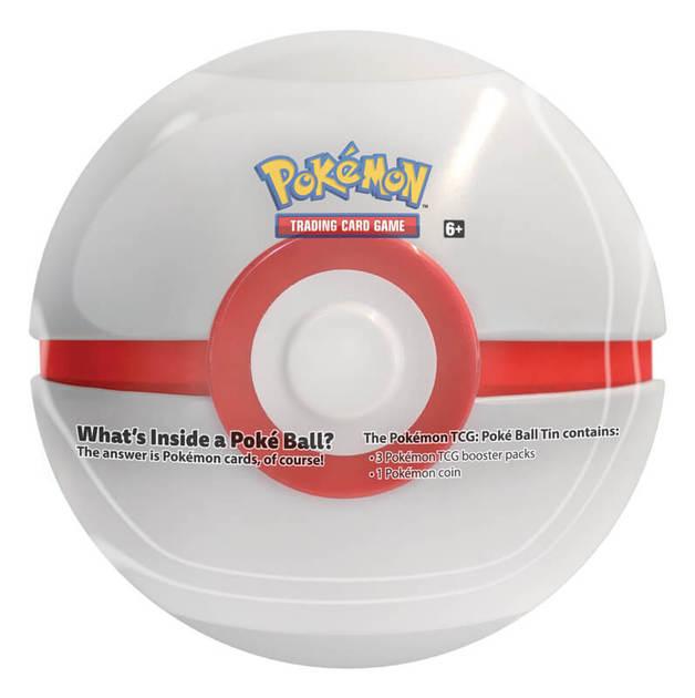 Pokemon TCG: Poke Ball Tin - Series 3