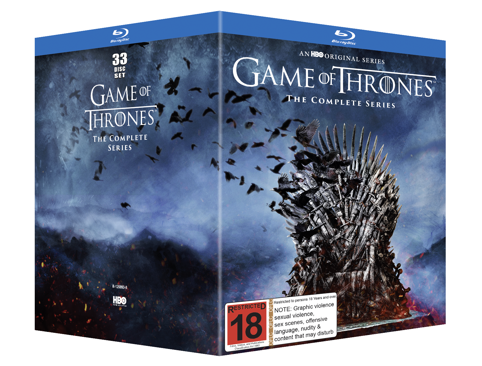 Game of Thrones Season 1-8 on Blu-ray image