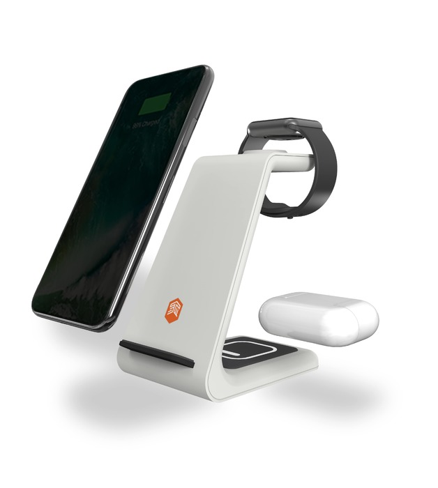 STM ChargeTree Multi Device Charging Station - White