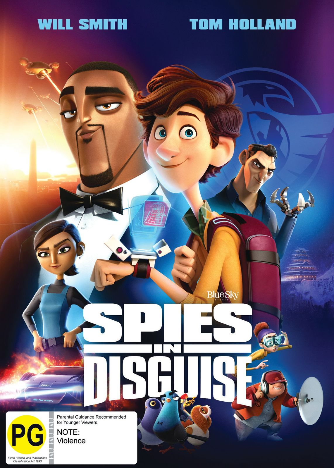 Spies in Disguise on DVD image