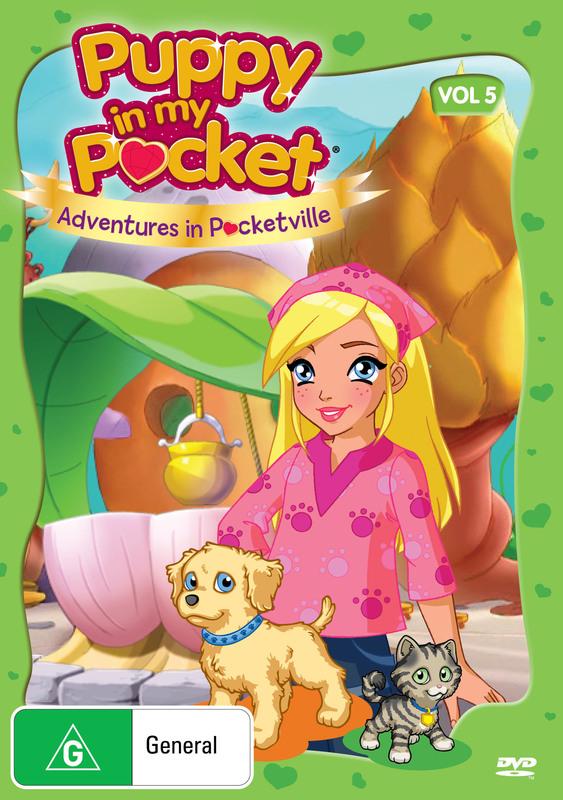 Puppy in My Pocket: Volume 5 on DVD