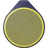 Logitech X100 Mobile Wireless Speaker (Purple/Yellow)