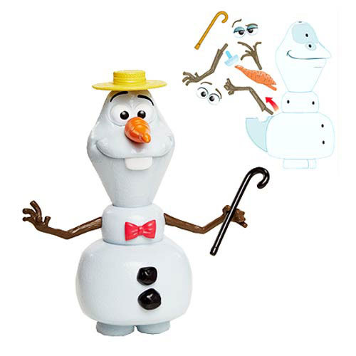disney frozen switch em up olaf figure toy at mighty ape australia. Black Bedroom Furniture Sets. Home Design Ideas