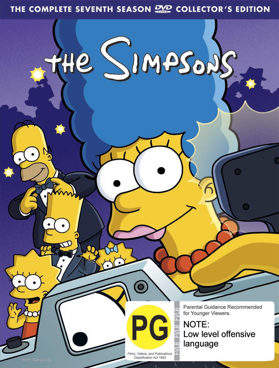 The Simpsons - Season 7 on DVD image