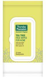 Thursday Plantation Tea Tree Face Wipes (25 Pack)