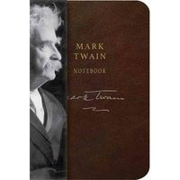 Mark Twain Notebook Embossed - A6