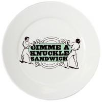 Sourpuss: Knuckle Sandwich - Dinner Plate