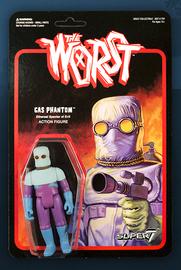 The Worst: Graveyard Shift - Gas Phantom Retro Action Figure
