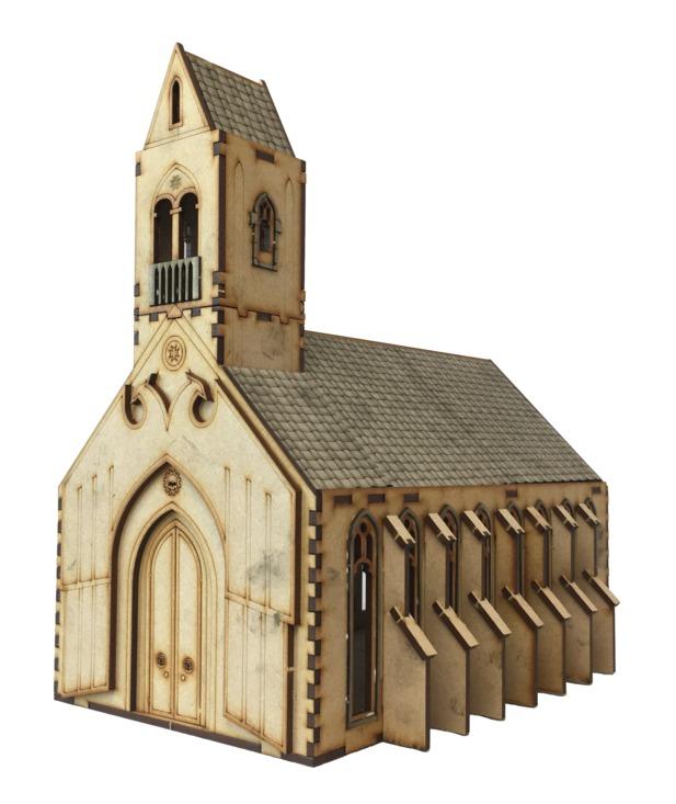 TTCombat: Tabletop Scenics - Gothic Chapel image