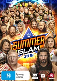 Wwe: Summerslam 2018 on DVD