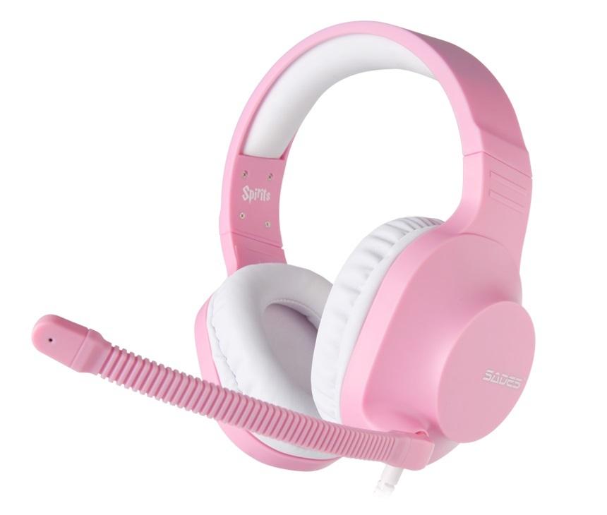 19b8cae52e1 SADES Spirits Universal Gaming Headset (Pink)     In-Stock - Buy Now ...