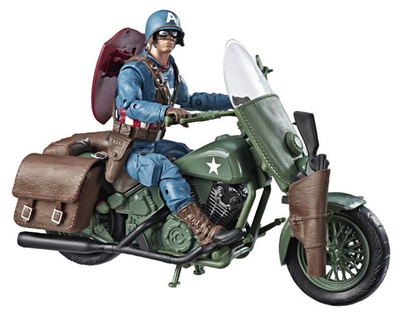 "Marvel Legends: Captain America Motorcycle - 6"" Vehicle Playset image"
