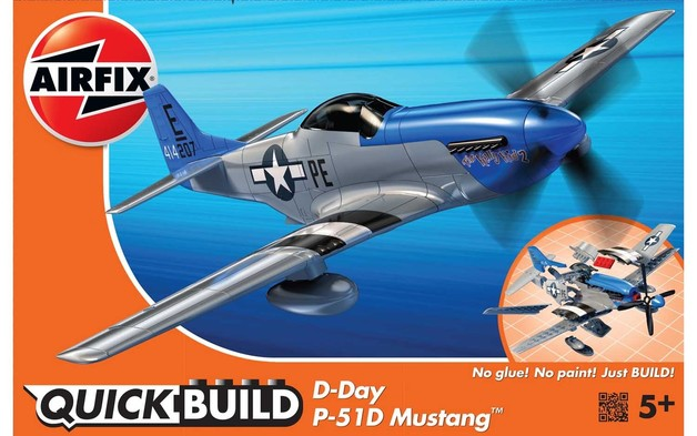 Airfix: Quickbuild D-Day P51D Mustang