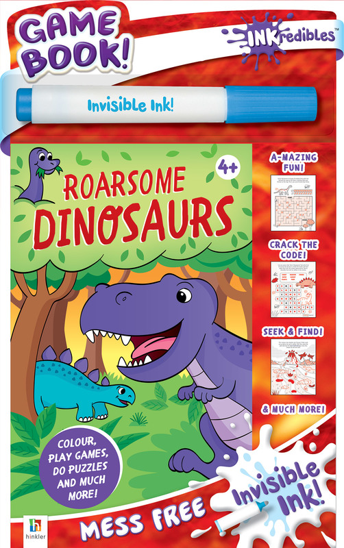 Inkredibles: Magic Ink Pictures - Roarsome Dinosaurs