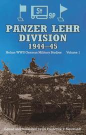 Panzer Lehr Division, 1944-45: v. 1 image