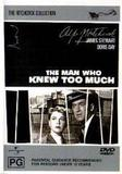 The Man Who Knew Too Much DVD