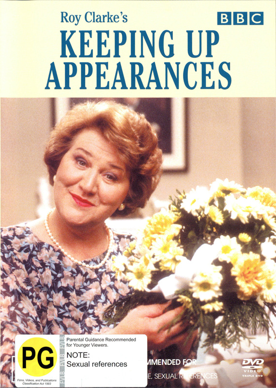 Keeping Up Appearances - Series 1 & 2 (3 Disc) on DVD