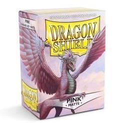 Dragon Shield Matte Pink Card Sleeves