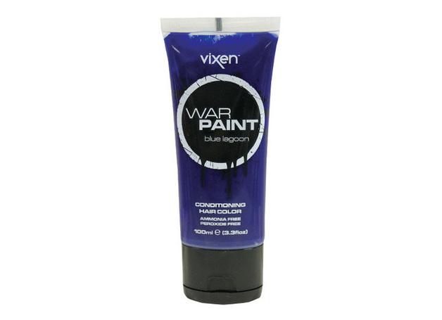 Vixen War Paint Temporary Hair Colour - Blue Lagoon