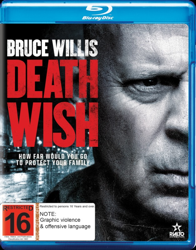 Death Wish on Blu-ray