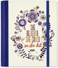 She Believed She Could: Large Address Book