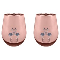 Sunnylife Glasses Flamingo (Set of 2)