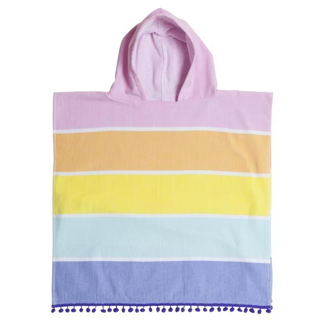 Sunnylife: Kids Hooded Fouta Towel - Palm Springs