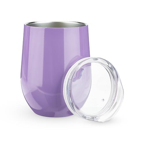 True: Sip & Go Stemless Wine Tumbler - Lilac