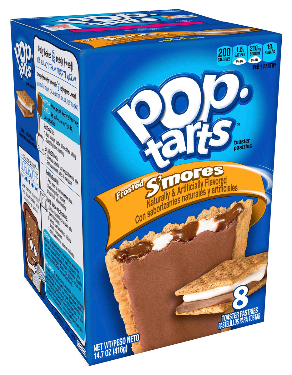 Kellogg's Pop Tarts Frosted Smores (8 Pack) image