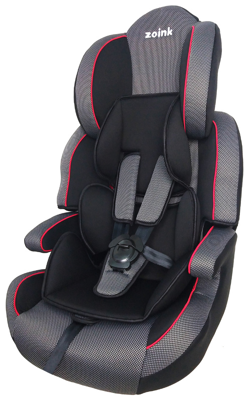 Zoink Booster Car Seat - Black/Grey