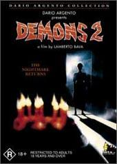 Demons 2 on DVD