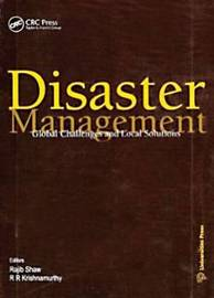 Disaster Management: Global Problems and Local Solutions by Rajib Shaw image