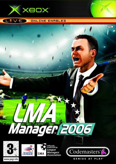 LMA Manager 2006 for Xbox