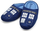 Doctor Who TARDIS Slippers (Men's Small)