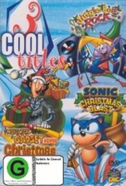 3 Cool Titles: Jingle Bell Rock / Sonic Christmas Blast / Inspector Gadget Saves Christmas on DVD