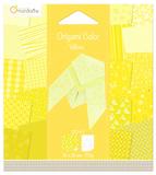 Origami Paper 120x120 - Yellow Cicada
