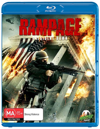 Rampage: President Down on Blu-ray