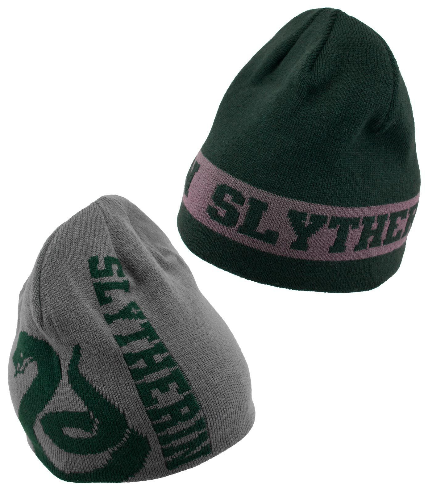 Harry Potter - Slytherin Reversible Knit Beanie image