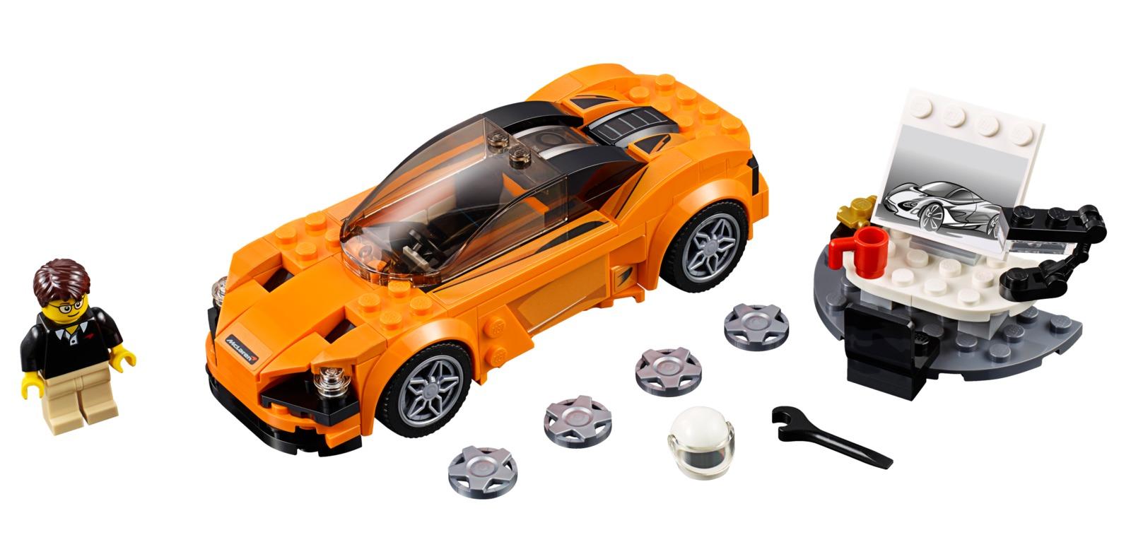 LEGO Speed Champions: McLaren 720S (75880) image