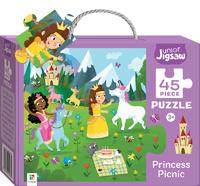Junior Jigsaw: Small Puzzle - Princess Picnic (45pc)