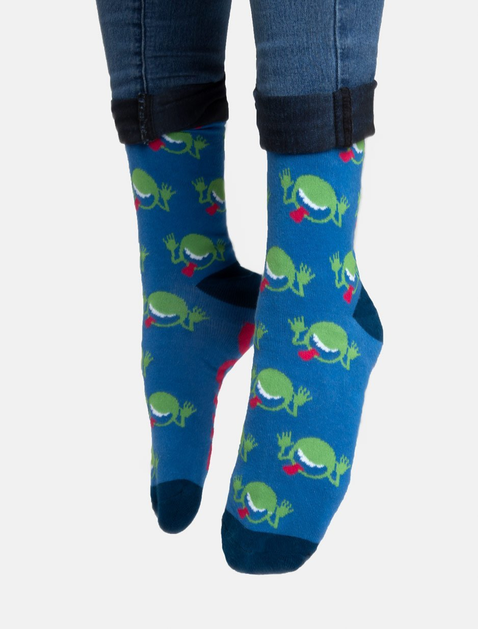 Out of Print: Hitchhikers Guide - Men's Crew Socks image