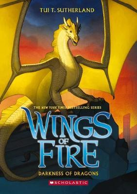 Wings of Fire #10: Darkness of Dragons by Tui,T Sutherland image