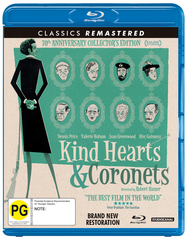 Kind Hearts And Coronets on Blu-ray