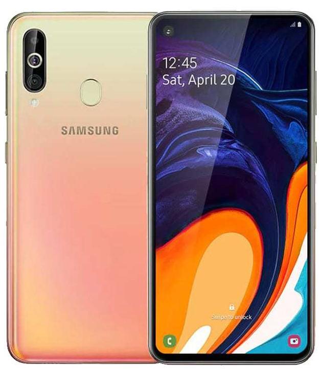 Samsung Galaxy A60 128GB (6GB RAM) - Cocktail Orange