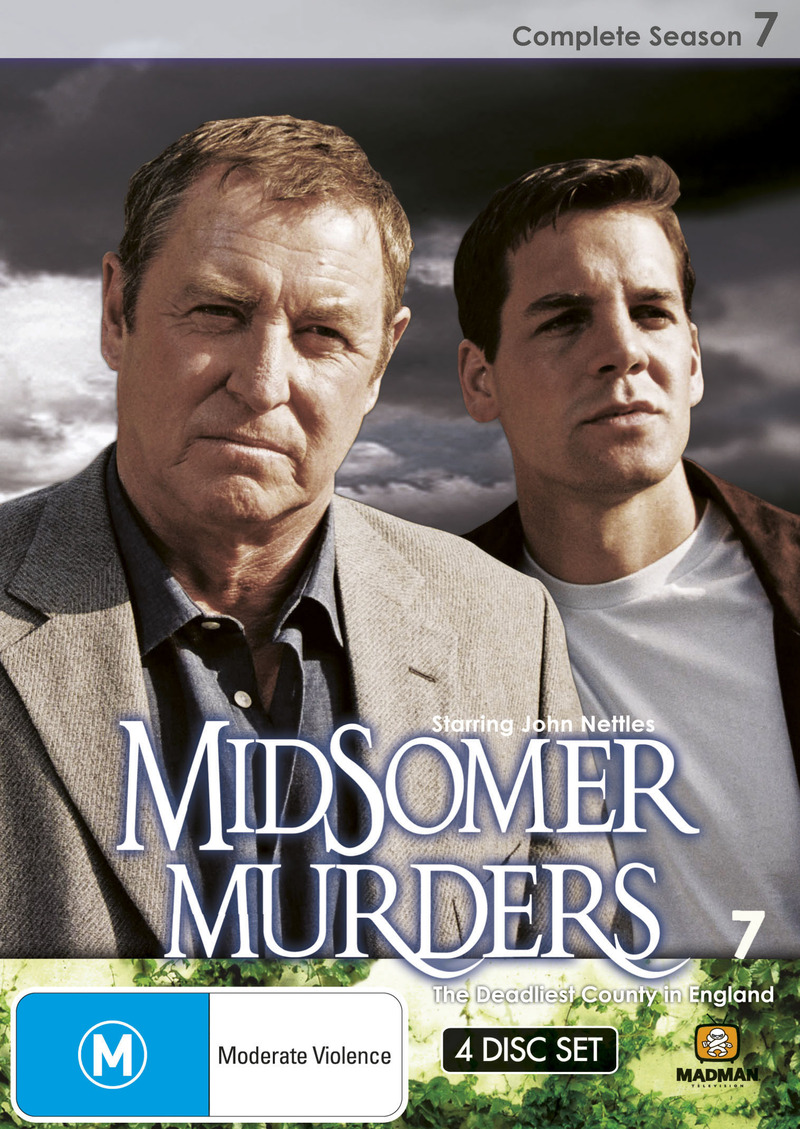 Midsomer Murders - Complete Season 7 (Single Case ) on DVD image