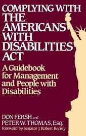 Complying with the Americans with Disabilities Act by Don Fersh